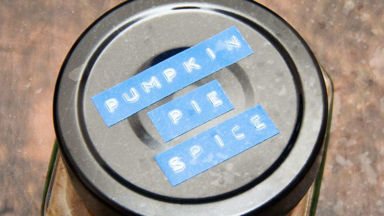 Pumpkin Pie Spice – Homemade Mix