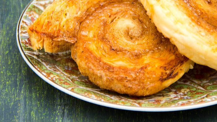 Pumpkin Spice Puff Pastry Swirls