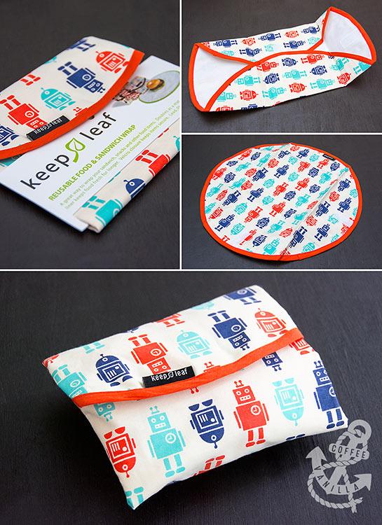 eco sandwich packaging food wrap reusable sandwich wrap