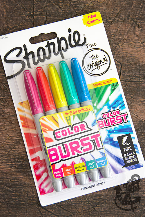 permanent markers color burst colours for teenagers