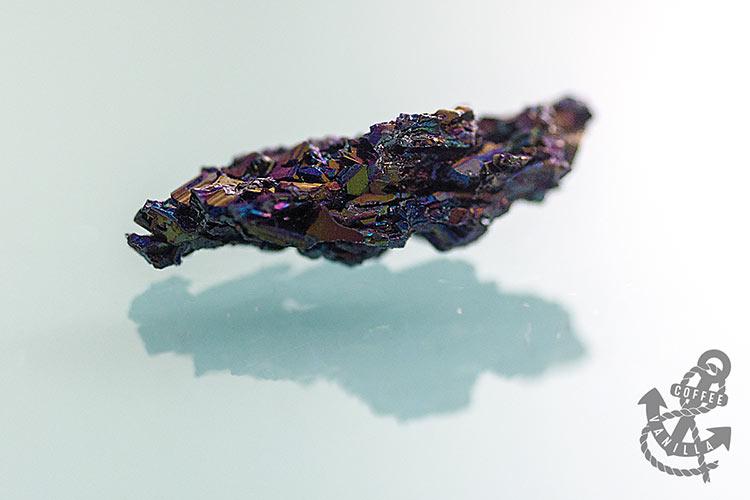 silicon crystals Silicon Carbide Carborundum rainbow iridescent Moissanite crystals cluster