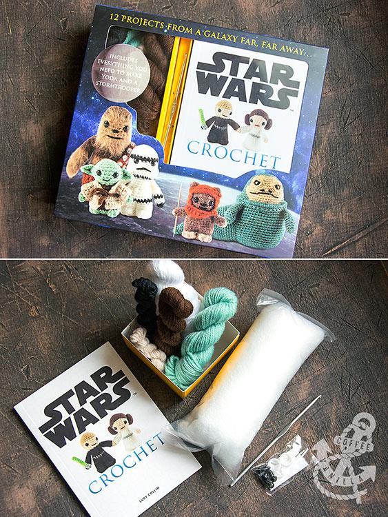 star wars crochet set book patterns tutorials
