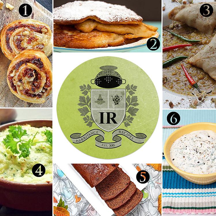 round up of inherited recipes