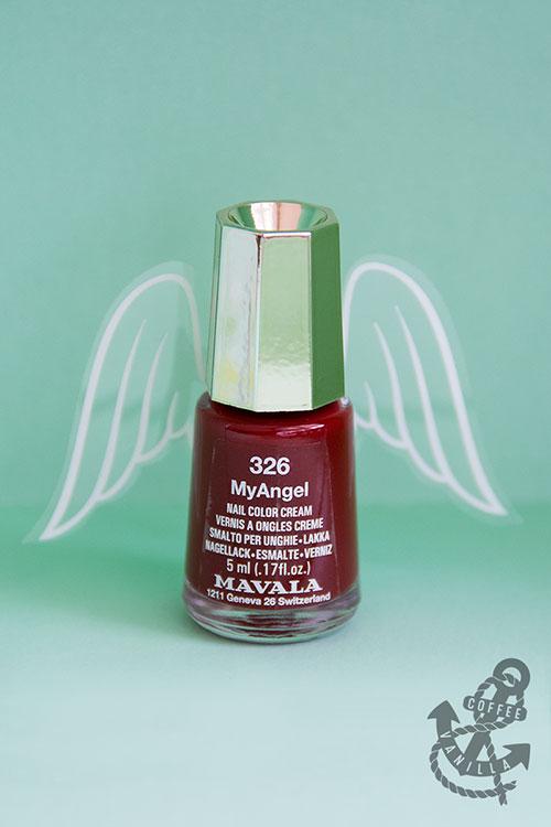 nasties free nail varnish with wings