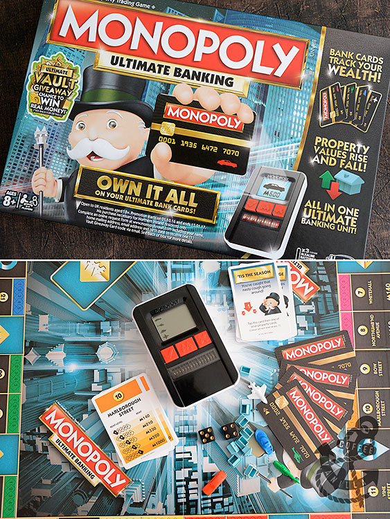 new version of classic Monopoly board game