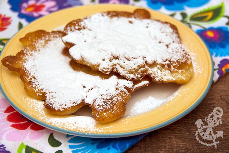 Polish yeast batter pancakes