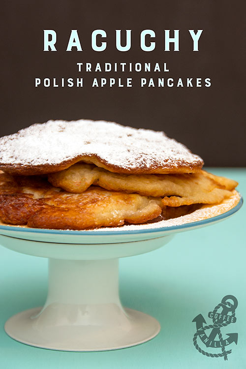 Polish pancakes with apples