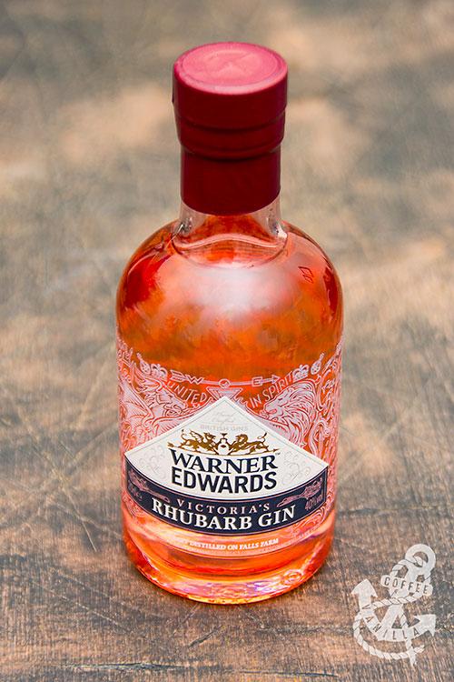 British rhubarb gin pink gin