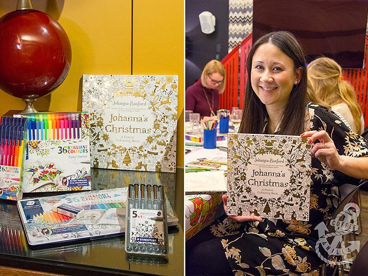 Johanna Basford author of Johanna's Christmas