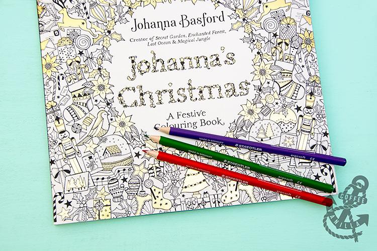 Johanna's Christmas - adult colouring book
