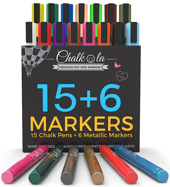 chalk markers giveaway