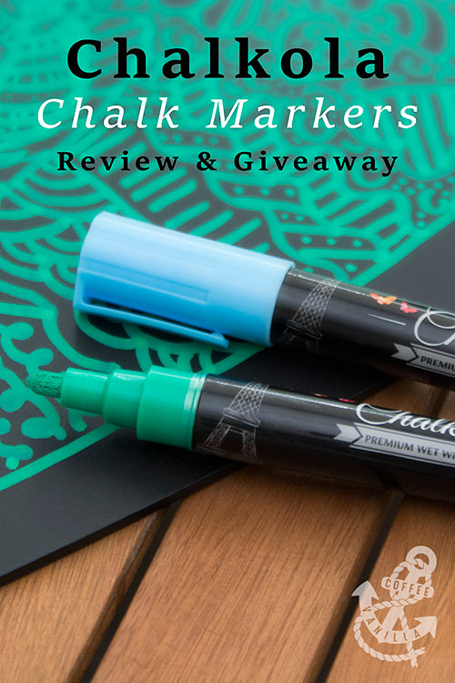 chalk markers from Chalkola