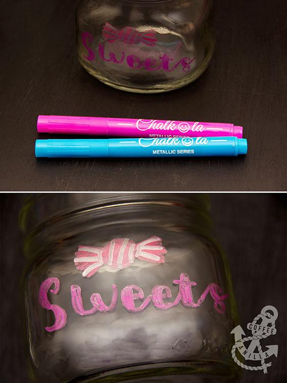 chalkboard pens from Chalkola metallic