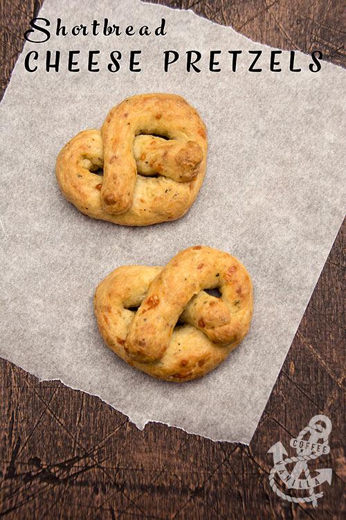 homemade baked cheese pretzels