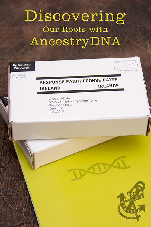 taking AncestryDNA test