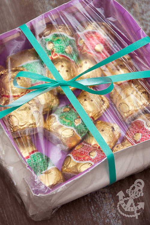 bake sale wrapping idea