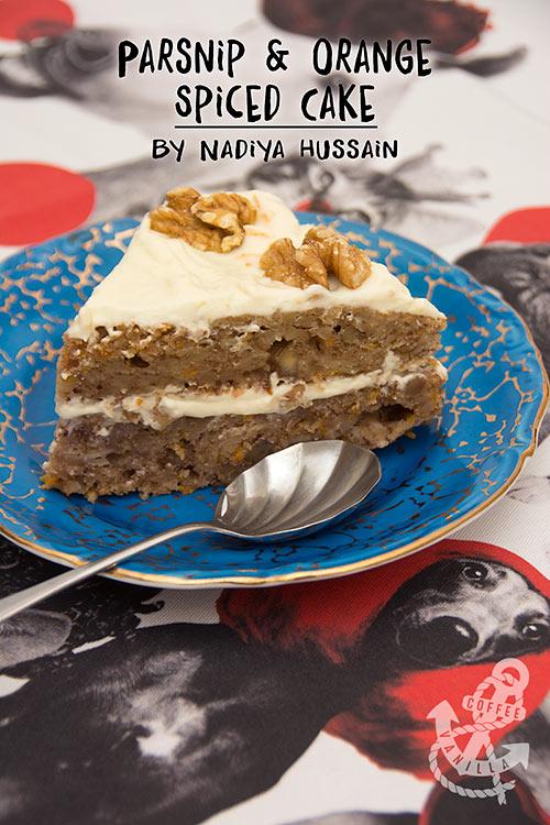 parsnip cake recipe