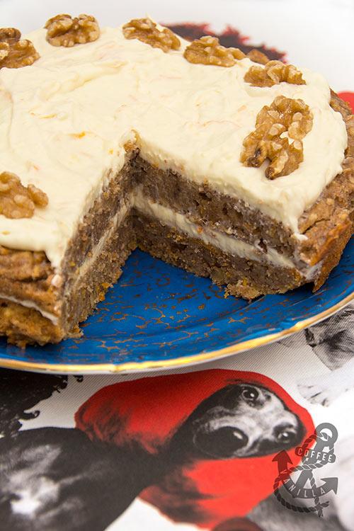 parsnip walnut cake recipe