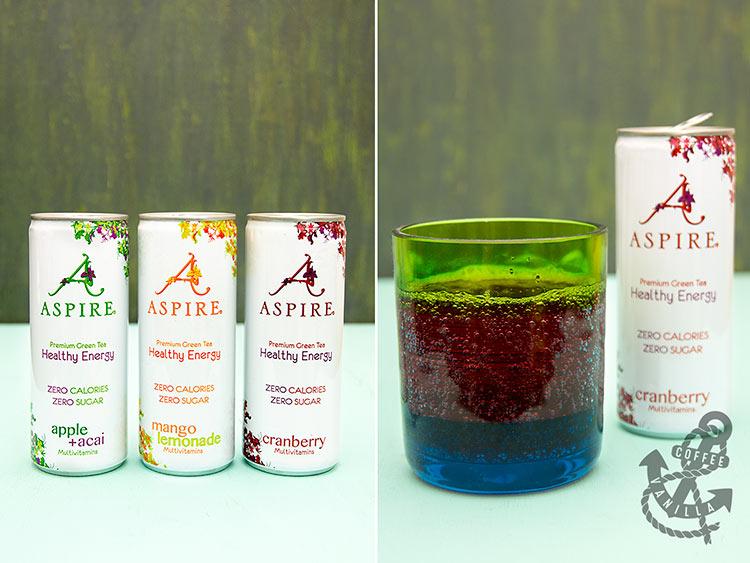 green tea sparkling drinks