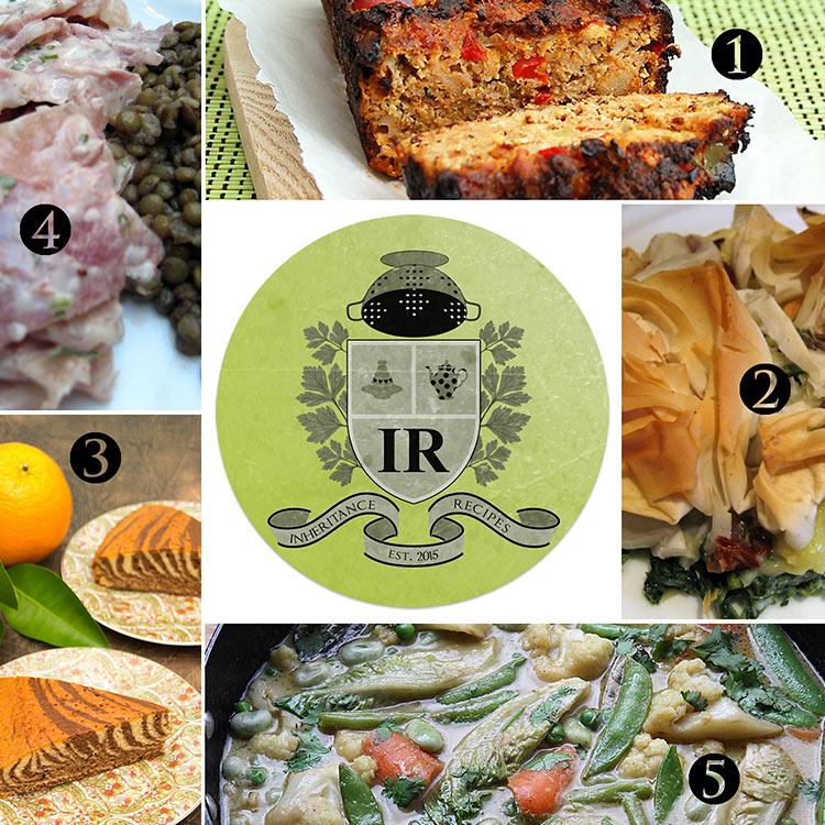 inherited recipes round-up