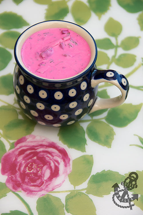 how to make chlodnik traditional Polish yogurt and beetroot soup