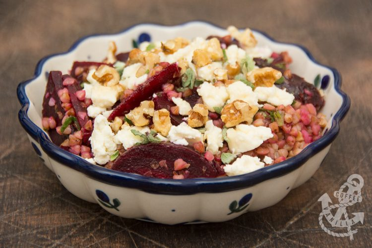 traditional Polish salad recipe with a twist