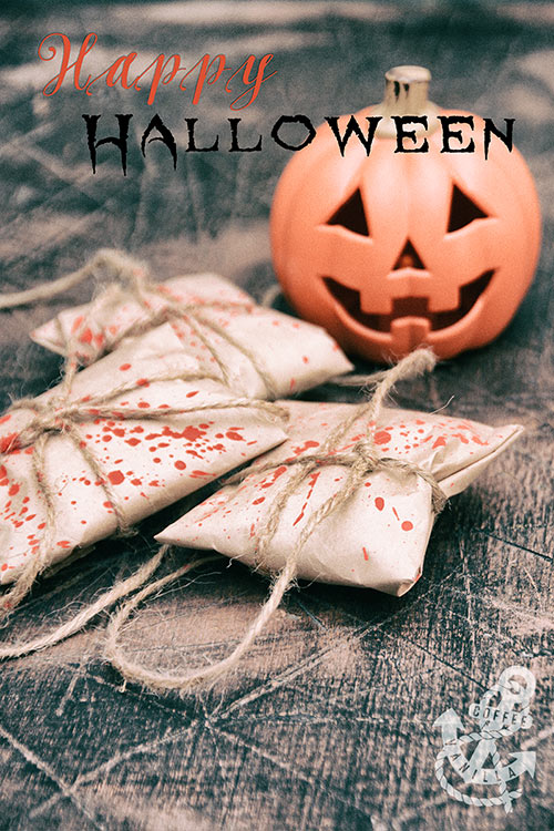 Halloween Blood Splatter Parcels for Trick-or-Treaters