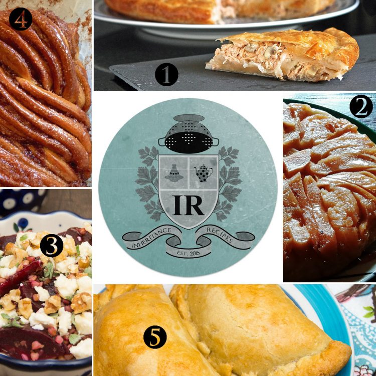 collection of best family recipes from all over the globe
