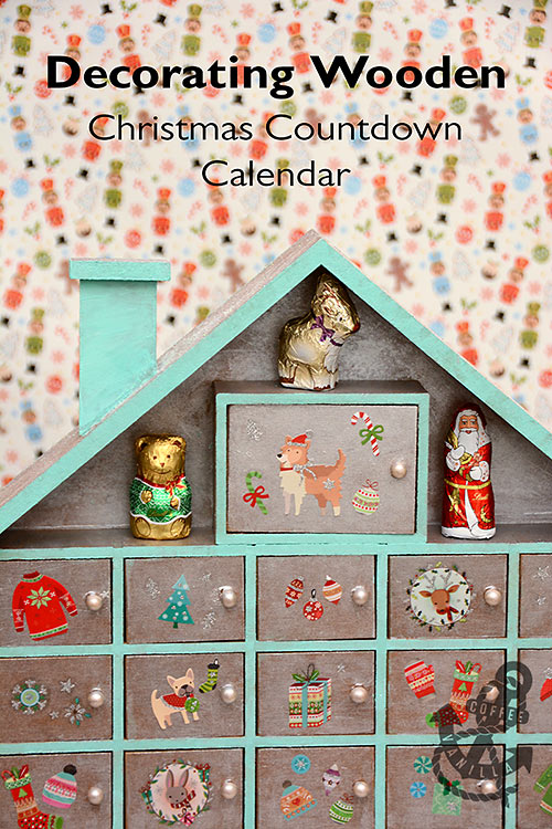 wooden countdown calendar ideas