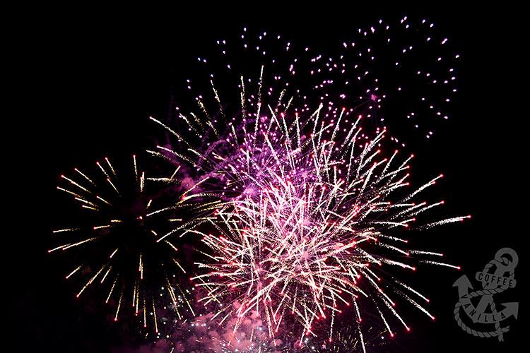 fireworks display at Preston Park in Brighton