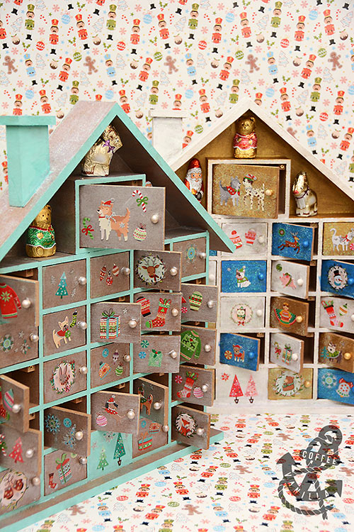 wooden advent calendar ideas