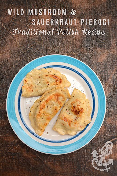 classic Polish pierogi recipe in English