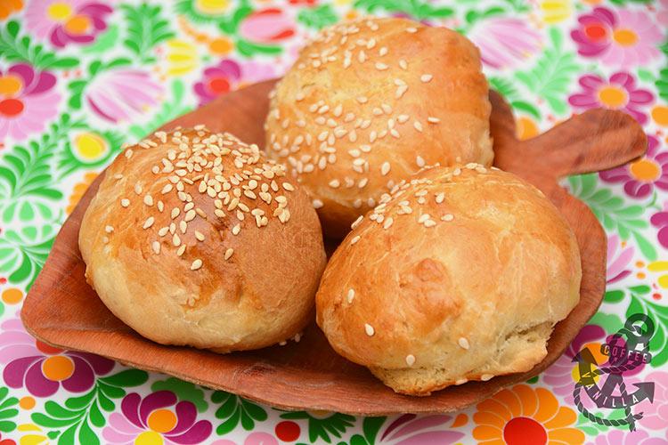 buttery bread rolls recipe