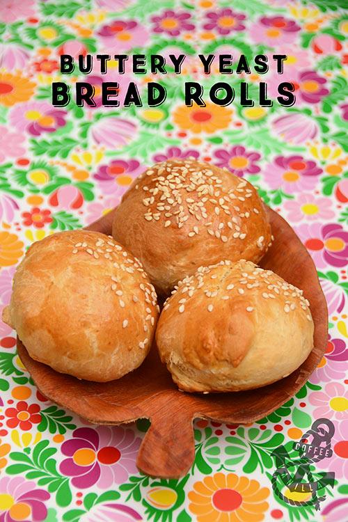 easy bread roll recipe
